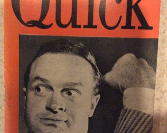 Quick news weekly, Nov 28 1949 Bob Hope