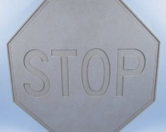 Stop Sign, Wood, Ready-to-paint