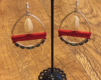 "Earrings ""Flamenco"" series"