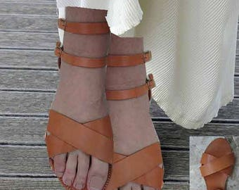 Womens Sandals, Sandals Womens,Leather Sandals,Greek Sandals,Geburtstag,Natural  Santals,Sandales grecques,Strappy Sandals,Archaiko ZOE