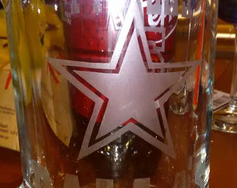 Personalized Etched Beer Mugs
