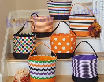 Personalized Halloween Candy Buckets
