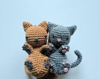 Claws the Cat crochet amigurumi baby pattern