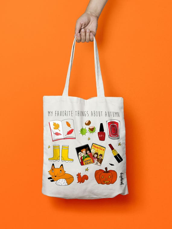 Tote bag Autumn