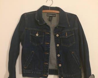 vintage Express denim jacket