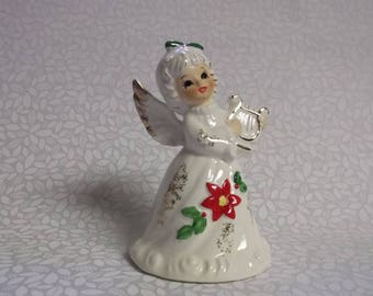Vintage Norcrest Angel Christmas Bell