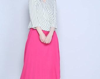 Fushia Skirt, Elasticated Waist, Awesome Price
