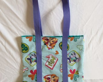 Paw Patrol Skye and Everest Tote Bag