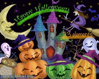 halloween happy halloween halloween clipart fall clipart witch clipart pumpkin clipart