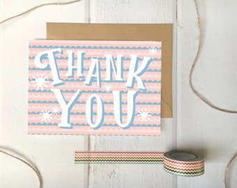 Thank You Card - RickRack