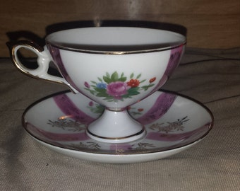 Vintage~Royal Stafford~Cup and Saucer Set