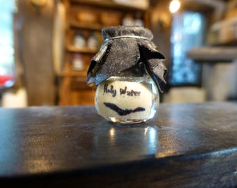 Miniature Vial of 'Holy Water'