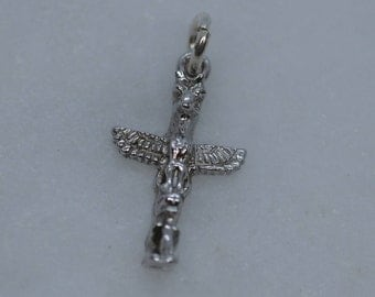 Sterling Silver Charm - Vancouver Totem Pole
