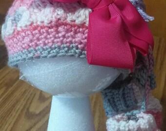 crochet newborn and infant hats