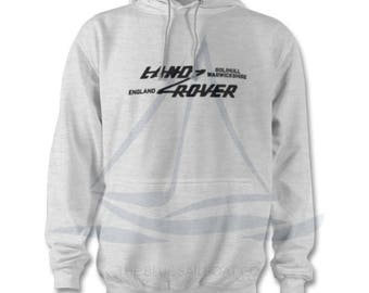 Land Rover Badge Adults Hoodie, One Life Live It, Land Rover, Defender, Novelty T-Shirt, Cars,  Land Rover T-Shirt Adults