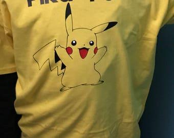 Boys Pikachu Pika Power Tee