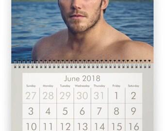 CHRIS PRATT 2018 Calendar