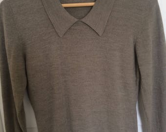 Vintage Dianne Woods Collared Sweater Shirt