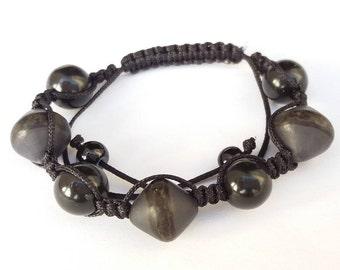 """Bracelet Shamballa """"Mocha"""""""
