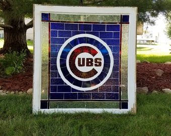 Chicago Cubs mosaic