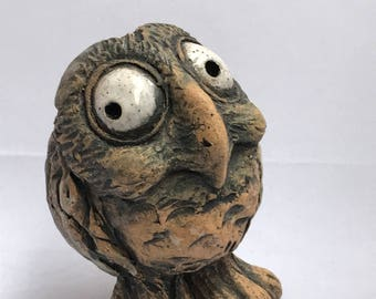 Ceramic Owl, A gift for her, A gift for him
