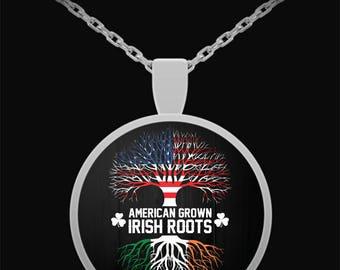 American Grown Irish Roots Pendant