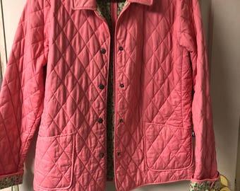 Pink Vineyard Vines jacket