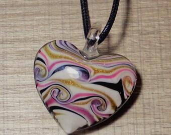 """My heart"" pendant"