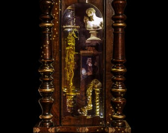 Hermes cabinet of curiosities