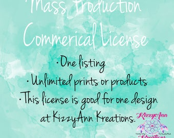 Mass Production Commercial License, Mass Production, Commerical, Extended