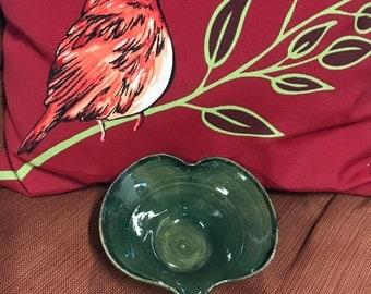 Hand made heart bowl