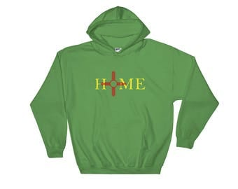 New Mexico is Home Hoodie-Sweatshirt/Zia Hoodie/ New Mexico Gifts