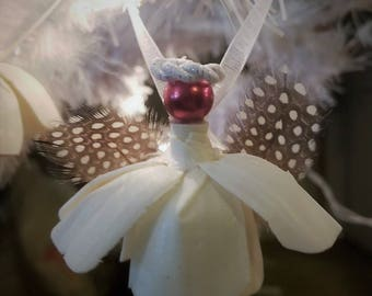 Tulip Angel Ornament