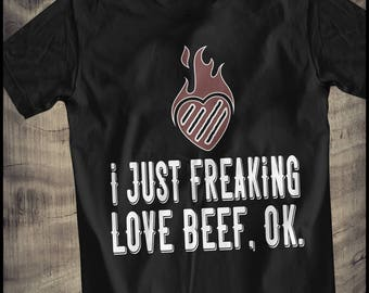BBQ grilled beef lover T-Shirt