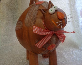 Ceramic, cat