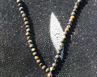 Rainbow Obsidian, Labradorite, Dalita, Ammonite, Huichol mantle