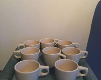 Vintage Melmac Arrowhead Melamine coffee cups
