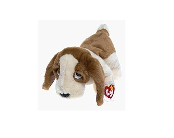 Ty Beanie Buddies Tracker the Bassett Hound 1998