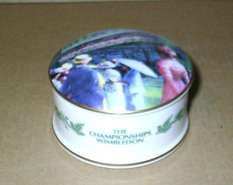 Wedgwood Wimbledon Round Box