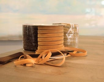 Special Order Wholesale Velveteen Ribbon Brown Collection / Pre-Order Rolls / Brown  Collection / ER-POBC-1
