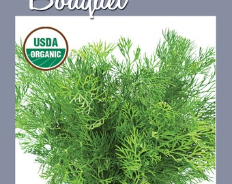 Bouquet Dill Seed 250 ct Packet | CERTIFIED ORGANIC