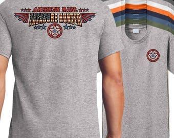 American Made Metal Detector T-Shirt, American metal detector shirt, coin detector shirt.
