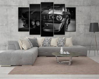 Shelby canvas, Shelby gt500, Ford Mustang canvas, Ford Mustang, Shelby gt500 cavnas, Eleanor canvas, Shelby print, Shelby wall art, Shelby
