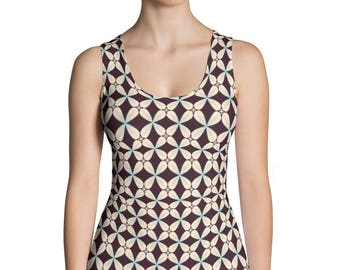 Pina-Sublimation Cut & Sew Tank Top,Prinful, USA