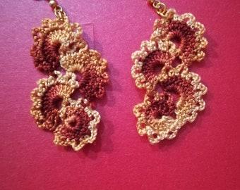 Pendant earrings (3 pairs)