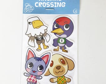 Animal Crossing: Pocket Camp Sticker Set