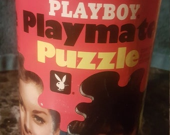 Antique playboy playmate puzzle