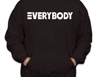 Logic EVERYBODY Hoodie Sz:S-2XL