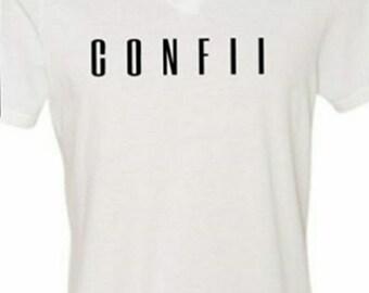 C O N F I I T- White/Black