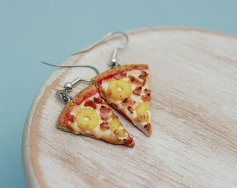 Pineapple Pizza Earrings